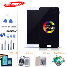 5.5Sinbeda Super AMOLED LCD For SAMSUNG Galaxy A710 Touch Screen Digitizer A7 2016 Display A7100 A710F