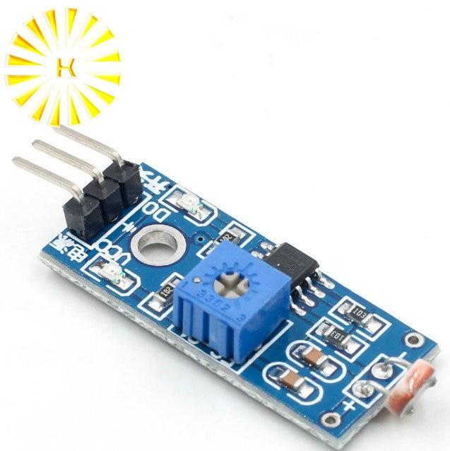 LM393 Photoresistance Photosensitive Sensor Module Detection Photoresistor Light Sensor Module for Arduino