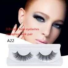 3D Europe And The United States Hot Models Thick Water Mane Material Handmade Manual False Eyelashes 1PCS