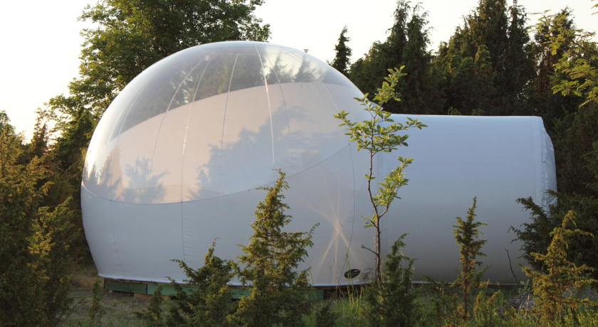 Free Shipping Inflatable Half Clear Bubble Tent Camping