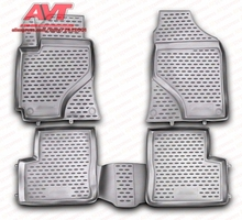 Floor mats for Lifan Solano 2010- 4 pcs rubber rugs non slip rubber interior car styling accessories