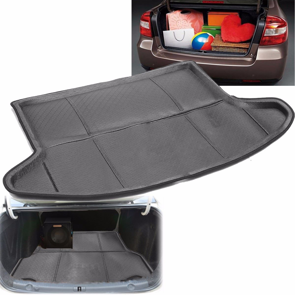 auto tailcase mat mantle rear trunk cargo mat for mazda cx 5 2013 2014 2015 2017 black in floor. Black Bedroom Furniture Sets. Home Design Ideas