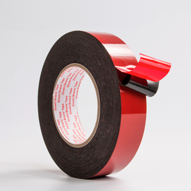 mobile phone tape 1mm thick foam tape black strong foam doublesided adhesive sponge double