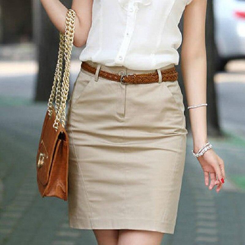 842.57руб. 44% СКИДКА|Женская мини юбка OL, обтягивающая юбка на молнии спереди, 2019|Юбки| |  - AliExpress