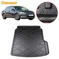 Buildreamen2 для Volkswagen Passat B7 B8 Автомобильный задний коврик для Багажника Грузовой пол ковёр лоток для ботинок подкладка грязевая подкладка Стайл...