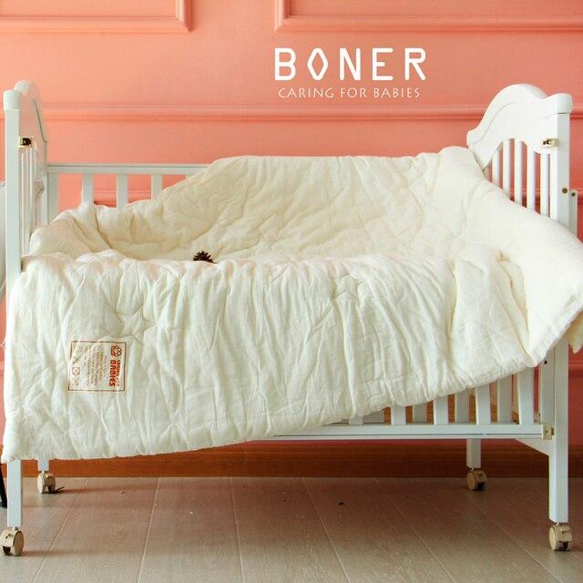 Solide Couleur Lit Lavage Coton Couette D Ete Pour Bebe Enfants Lit