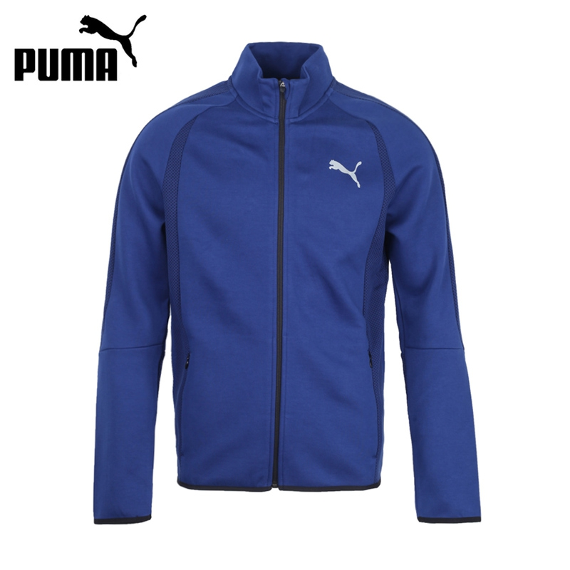 футболка evostripe spaceknit tee Original New Arrival 2017 PUMA Evostripe Ultimate Jacket  Men's  jacket Hooded   Sportswear