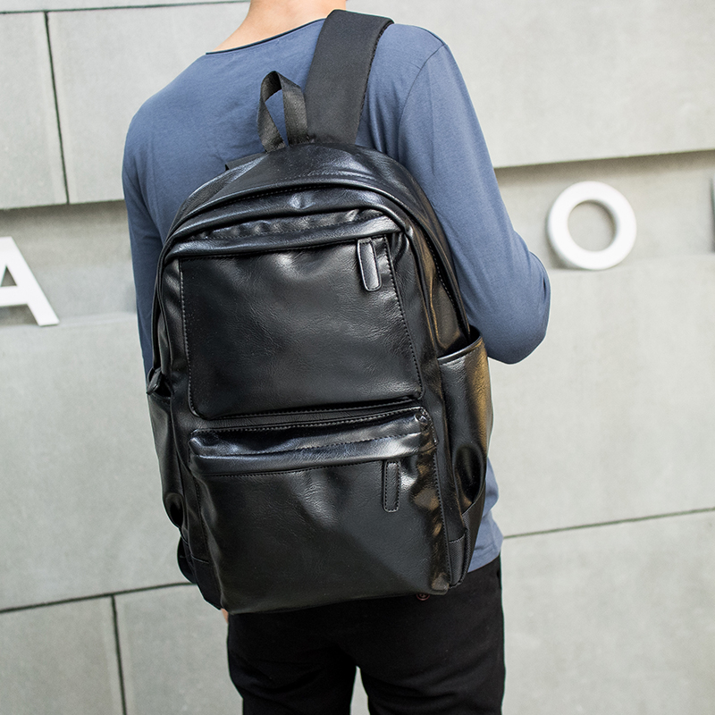Tidog Male leisure backpack men Korean Satchel school backpack