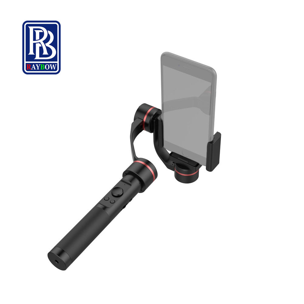 Raybow S2 brushless 3 Axis handheld stabilize gimbal axis 3 for iphone gopro sjcam action cam