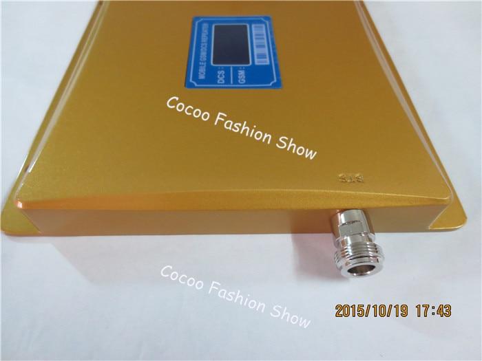 Affichage LCD GSM 900mhz DCS 1800mhz double bande Booster 4G répéteur de Signal de téléphone portable amplificateur de signal cellulaire + antennes - 2