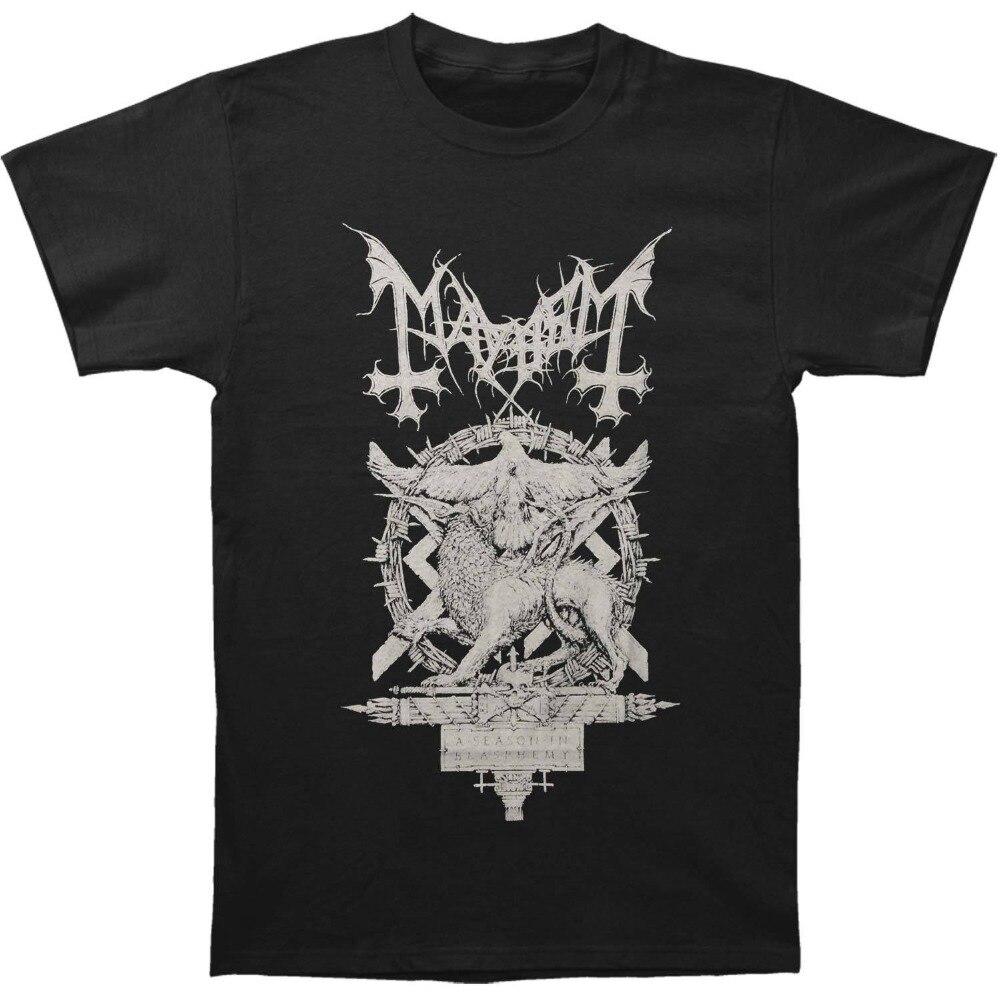 2018 New Summer Men Hot Sale Fashion Chiodos Mayhem Mens A Season Of Blasphemy T-shirt Size S To 3XLT Shirt Mens Fashion Men