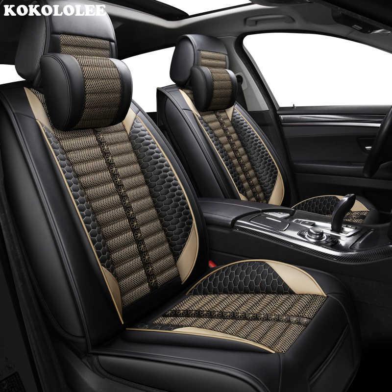 KOKOLOLEE tampas de assento Do Carro para a Peugeot Todos Os Modelos 308 508 301 4008 RCZ 301 3008 206 307 207 2008 408 car styling gg