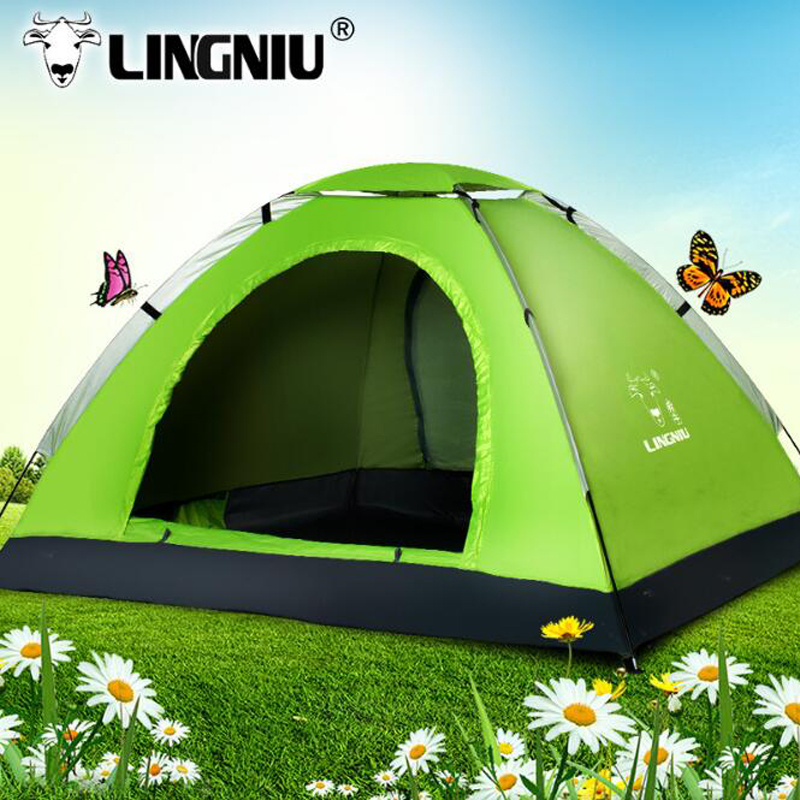3Person Camping Tent Waterproof 200*150*110cm weather resistant outdoor camping tent for fishing hunting adventure family party waterproof party family tent 6 8 10 12 outdoor camping tent sun shelter party family hiking camping tent