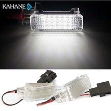 2 STÜCKE 18SMD LED Courtesy licht Gepäck Trunk Kennzeichen Licht lampe FÜR AUDI A1 A3 A5 A6 A8 TT Q5 Q7 R8