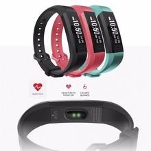Y11 Водонепроницаемый сердечного ритма Смарт Браслет спортивные Мониторы браслет Фитнес трекер Браслет OLED Смарт часы с 3 вида цветов