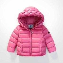 Padded Parka Children Winter Coat Clothing Doudoune Enfant Winter Coats Infants Duck Down Jacket Kids Dimond Hoodie 70Z030B