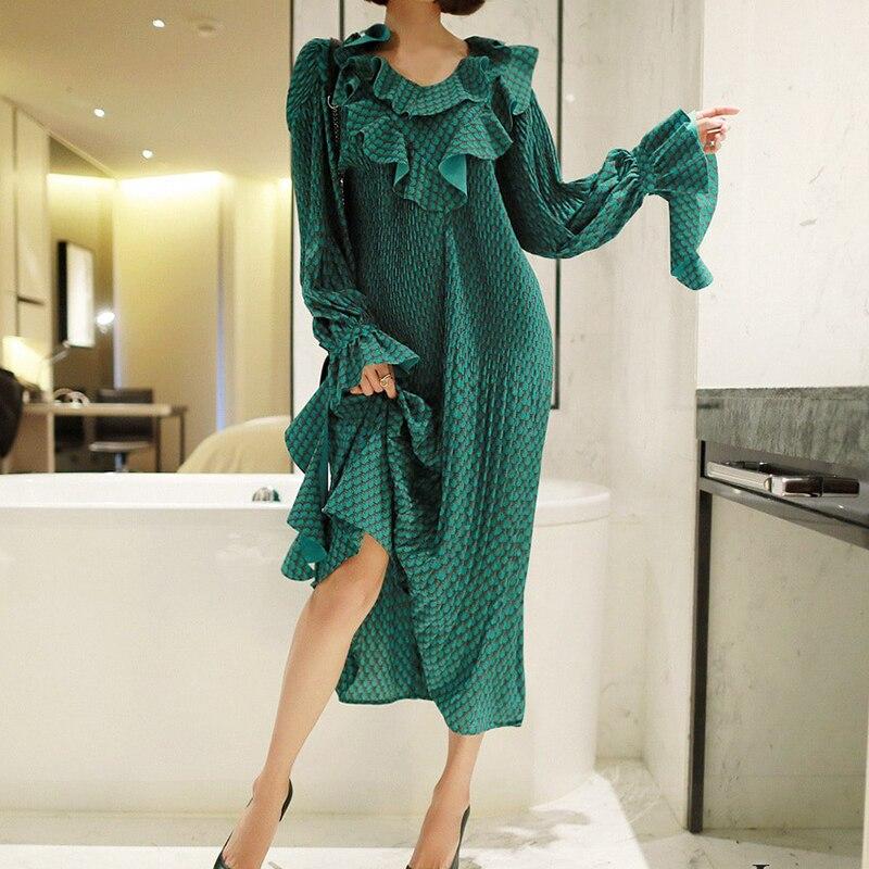 Mit Kleid Floral Wasit Frauen Fashion High G Rugod BrxhQtsdC