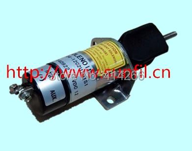 ФОТО Wholesale Fit for Synchro Start 12VDC Electric Fuel Shut-Down Solenoid 1504 12C2U1B1S1,12V