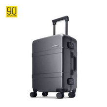 Xiaomi 90 Points 20/24inch Universal Wheels Youth Suitcase Alloy Frame Aluminum Luggage Men Women High Quality Trolley Case Lock