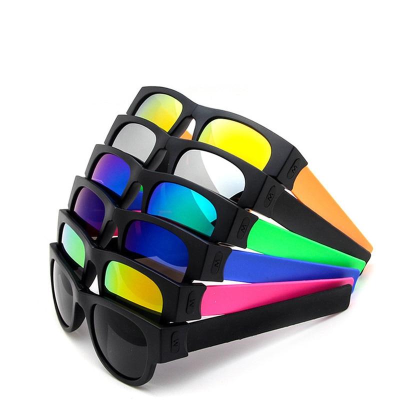 Unidade aplauso anel Pulseira dobrável óculos de sol Mulheres homens óculos esporte sombra Moda de design da marca