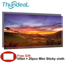 100inch 60 84 120 130 inch 16:9 Projector Screen High Brightness Reflective Fabric Cloth Screen for Sony Espon BenQ XGIMI Beamer