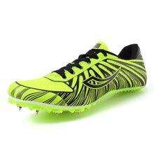Спортивная обувь для трека и поля для мужчин W, мужская обувь большого размера с шипами, спортивная обувь для мужчин и женщин, кроссовки для тренировок
