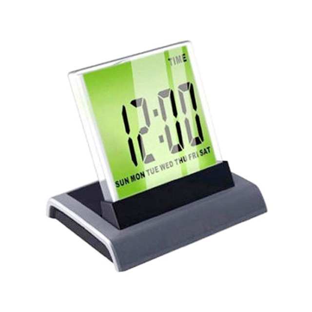 Color Changing Battery Operated Digital Led Alarm Clock With Calendar Thermometer Backlight Price