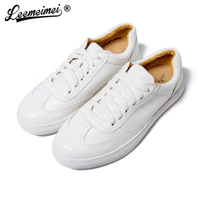 Blanc White En Mujer Dame Sport Femmes Sneaker Formateurs Plus Zapatillas Casual Marche Chaussures Plat Plein Femme Air aSOq7wC
