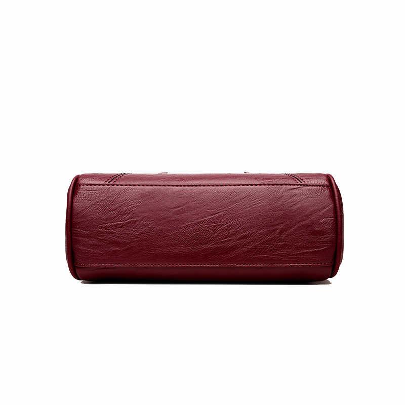 Новинка 2019, мягкие сумки через плечо для женщин, Сумки из искусственной кожи, дизайнерские женские сумки на плечо, высококачественные однотонные женские сумки-мессенджеры