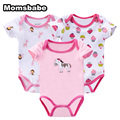 Baby Bodysuit Newborn Baby Print Bodysuit Similar Cartes Baby Girl Clothes 100% Cotton Short Sleeve Baby Jumpers Infant Clothing