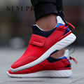 Hot Sale Fashion Men Casual Shoes Spring Low Top Slip On Sport Flat Shoes Men Black Blue Red Light Runner Shoes Size 39-44 ED6