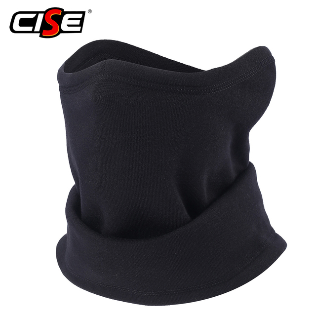 6f0cb0614 US $4.99 40% OFF|Winter Fleece Thermal Motorcycle Balaclava Neck Warmer  Face Mask Shield Scarf Ski Snowboard Bicycle Headband Mens Womens Biker-in  ...
