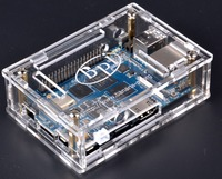 In stock Acrylic/Clear Case compatible with BPI-M3 Board,BPI-M64 and BPI-M2 Ultra board