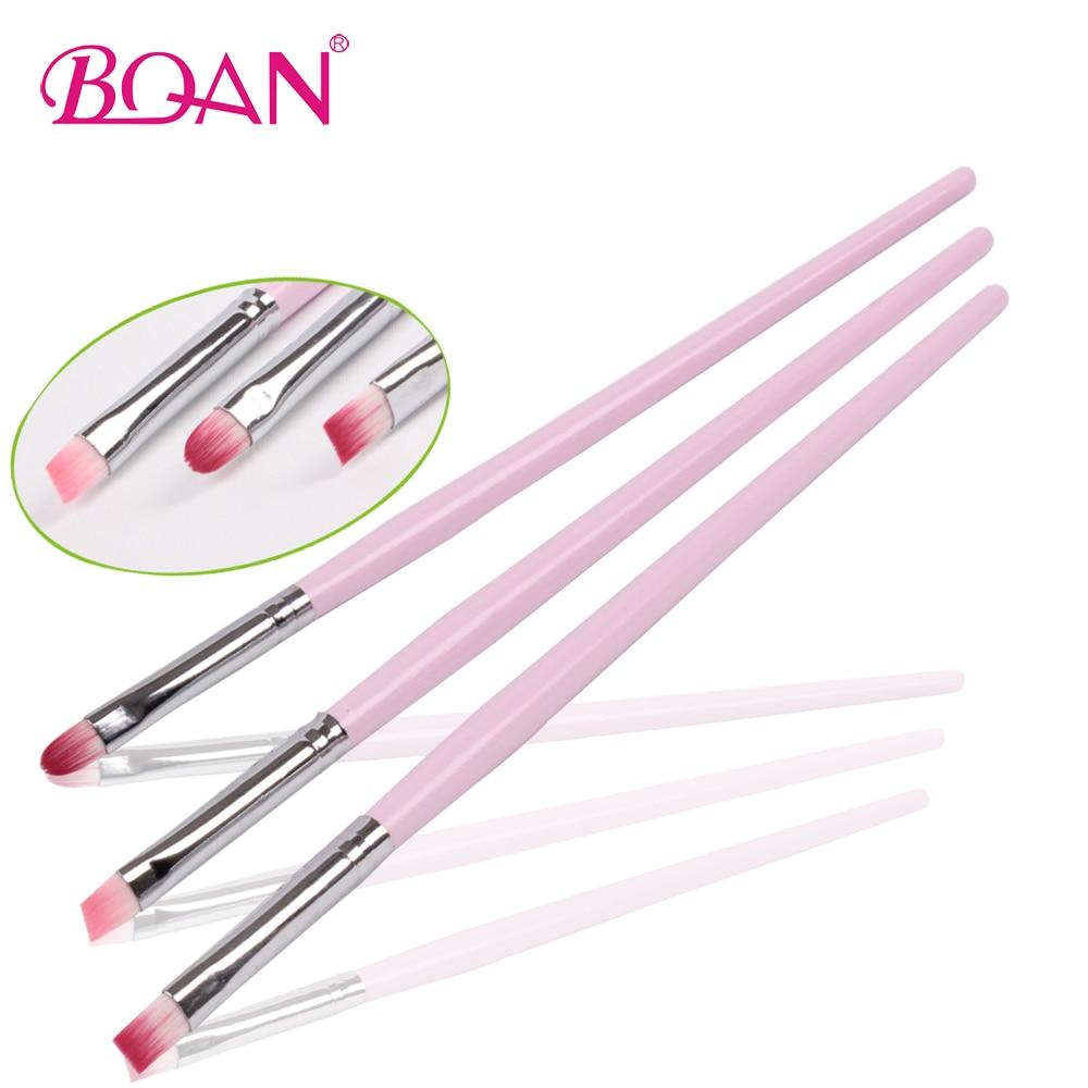 3pcs Free Shipping Nylon Hair Nail Art Design Brush Set - a229