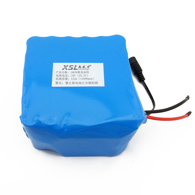 6S6P 24 12AH 18650 lithium battery / moped / motorcycle / electric car battery with medical / Outdoor Lighting