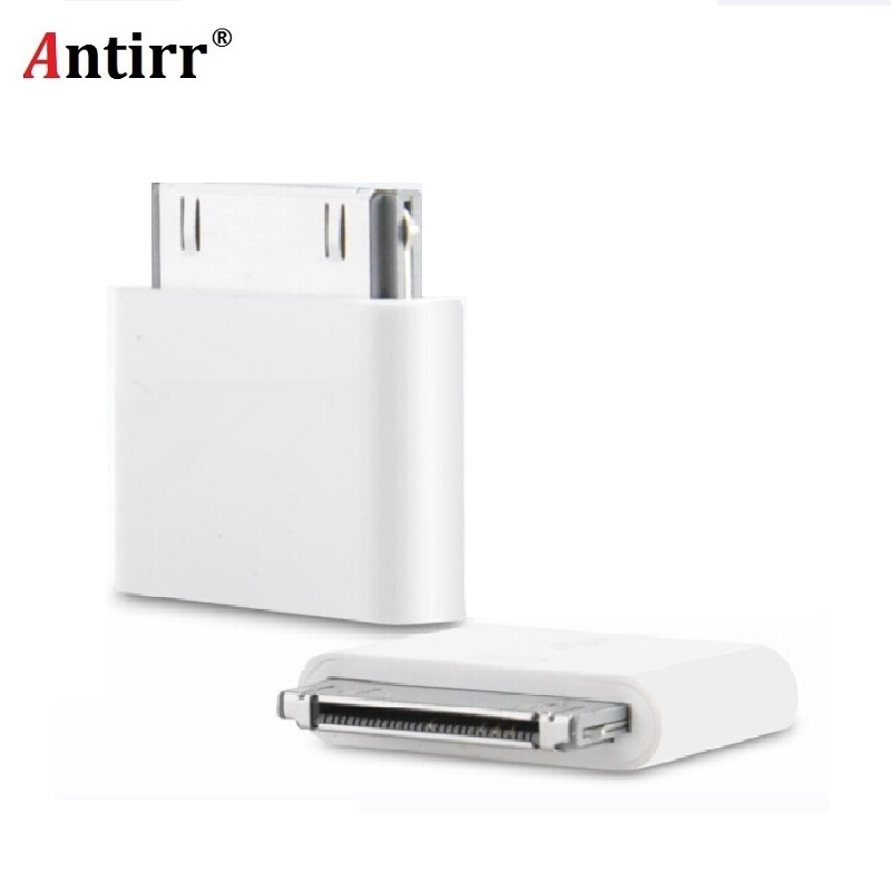 Micro USB To 30 Pin Male Charger Connector Adapter Converter For IPhone 4 4s 4G 3GS For IPad IPod