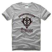 Asculina ญี่ปุ่นอะนิเมะกันดั้มPrincipalityของZ M Eonบุรุษผู้ชายเสื้อยืดเสื้อยืด2015แขนสั้นผ้าฝ้ายเสื้อยืดทีCamisetas