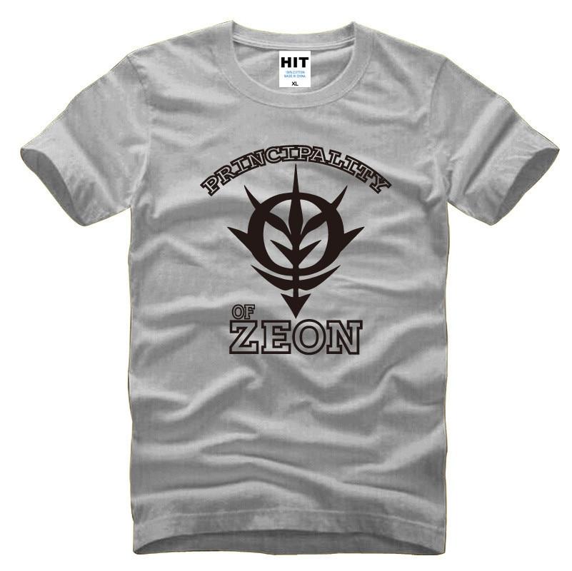 Japanski Anime Gundam Kneževina Zeon Muška Muška Majica Majica - Muška odjeća