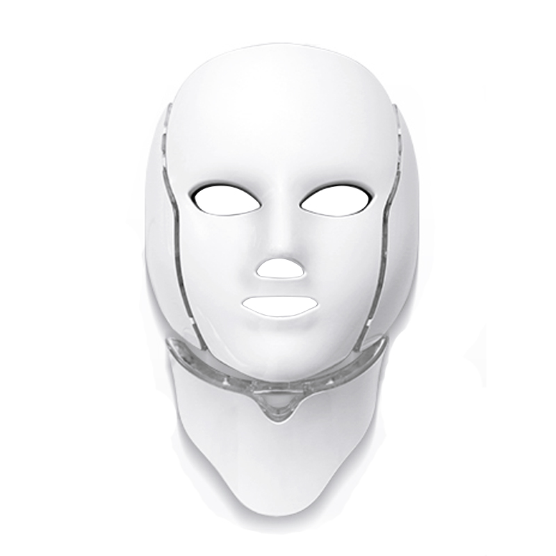 New 7 Color LED Facial Mask with Neck Skin Rejuvenation Anti Acne Wrinkle Beauty Treatment Salon Acne Removal Face Beauty DeviceNew 7 Color LED Facial Mask with Neck Skin Rejuvenation Anti Acne Wrinkle Beauty Treatment Salon Acne Removal Face Beauty Device