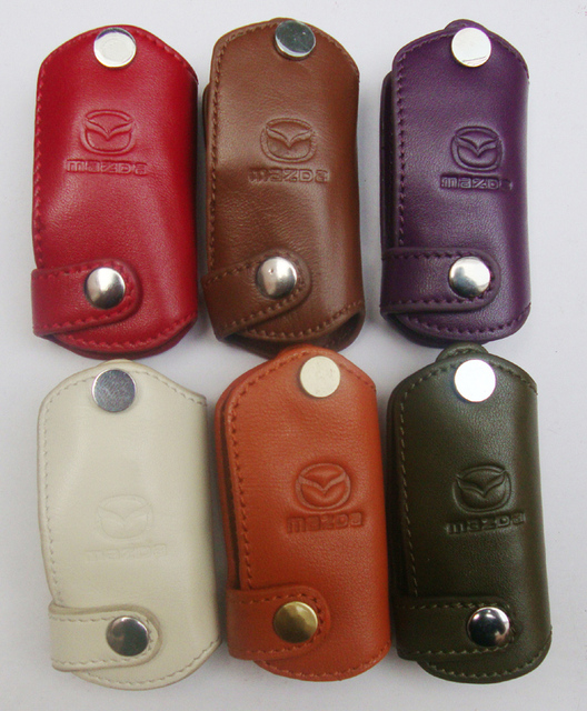 Mazda 3 MAZDA 6 polymax folding genuine leather car key wallet key