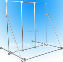 Laboratory Rack Multi-Function Physical Test Support Stand Base 70x70cm Stainless Steel