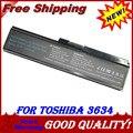 6 células bateria para Toshiba PA3634U-1BAS PA3634U-1BRS PA3635U-1BAM PA3635U-1BRM PA3638U-1BAP PA3816U-1BAS PA3816U-1BRS