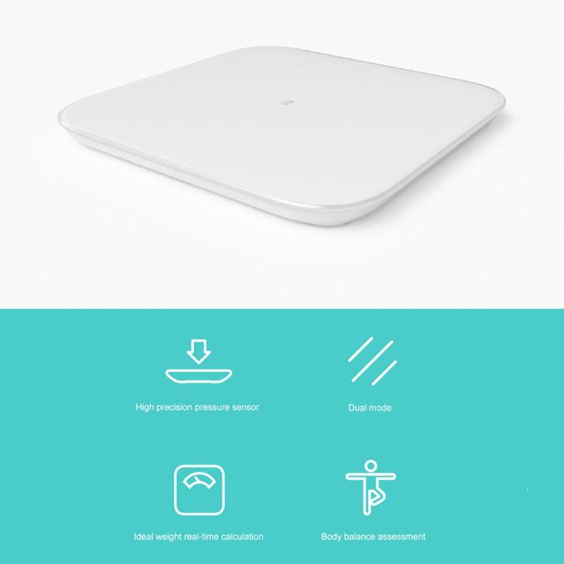 Image 4 - Original Xiaomi Smart Weighing Scale 2 Bluetooth 5.0 Mifit APP Control Precision Health Weight Scale LED Display Digital Scale-in Smart Remote Control from Consumer Electronics