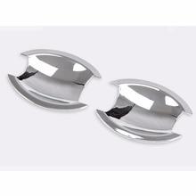 2 шт. Chrome наружные двери с жалюзийными решётками ручка чашки колпаки Крышка Накладка для Jeep Compass 2011 2012 2013 [QPA335]