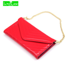 Love Case Latest bright surface for iPhone6s mobile wallet handbag for iPhone6 6s plus iPhone 7 7plus flip phone bag case