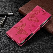 Leather Phone Bags Silicone Holder sFor Sony Xperia 10 For Case Butterfly Lady Wallet Frame Cover Book Funda E07Z