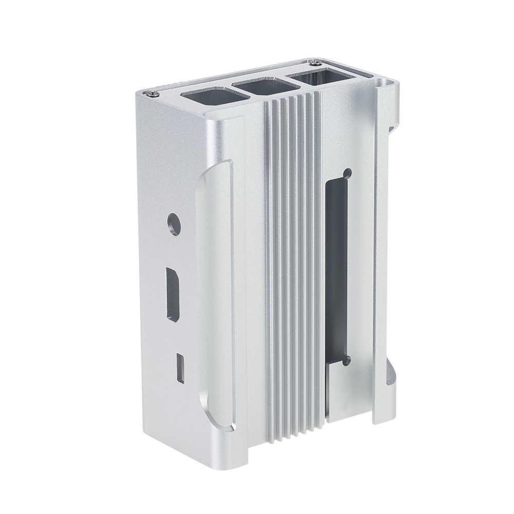Obudowa ochronna ze stopu aluminium obudowa Shell obudowa Box dla Raspberry Pi 3, pi 2 i B + z wentylatorem chłodzącym