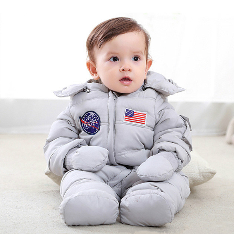 New Newborn Baby Boy Rompers Children Winter Romper Jumpsuit Baby Gril Snowsuit Thick Warm Toddler Jumpsuits Cotton Suit Clothes winter baby rompers organic cotton baby hooded snowsuit jumpsuit long sleeve thick warm baby girls boy romper newborn clothing