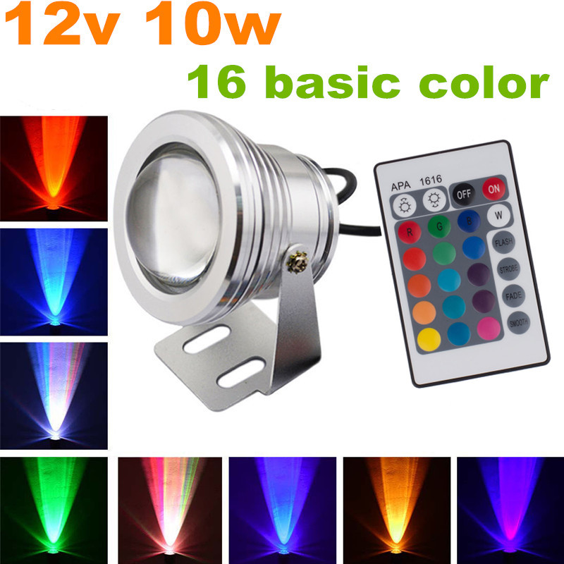 Elegant Cheap Free Shipping+2pcs/lot Led Landscape Lighting Rgb Color Changing LED  Stage Light 12 Volt In Spotlights From Lights U0026 Lighting On Aliexpress.com  ...