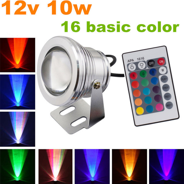 Free Shipping 2pcs Lot Led Landscape Lighting Rgb Color Changing Stage Light